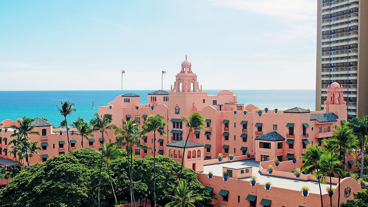 Royal Hawaiian Room Service