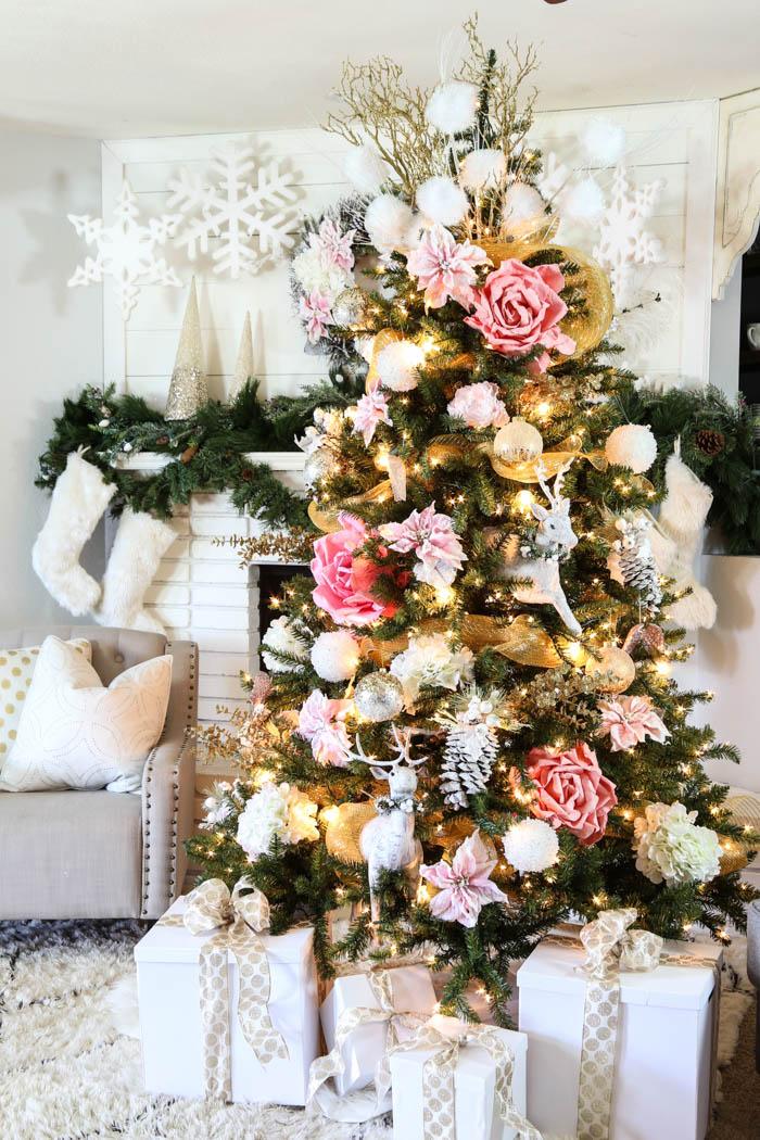 Pink Christmas Holiday Decor1