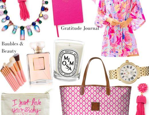 pink christmas gift guide